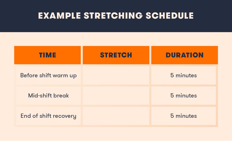 stretching-schedule