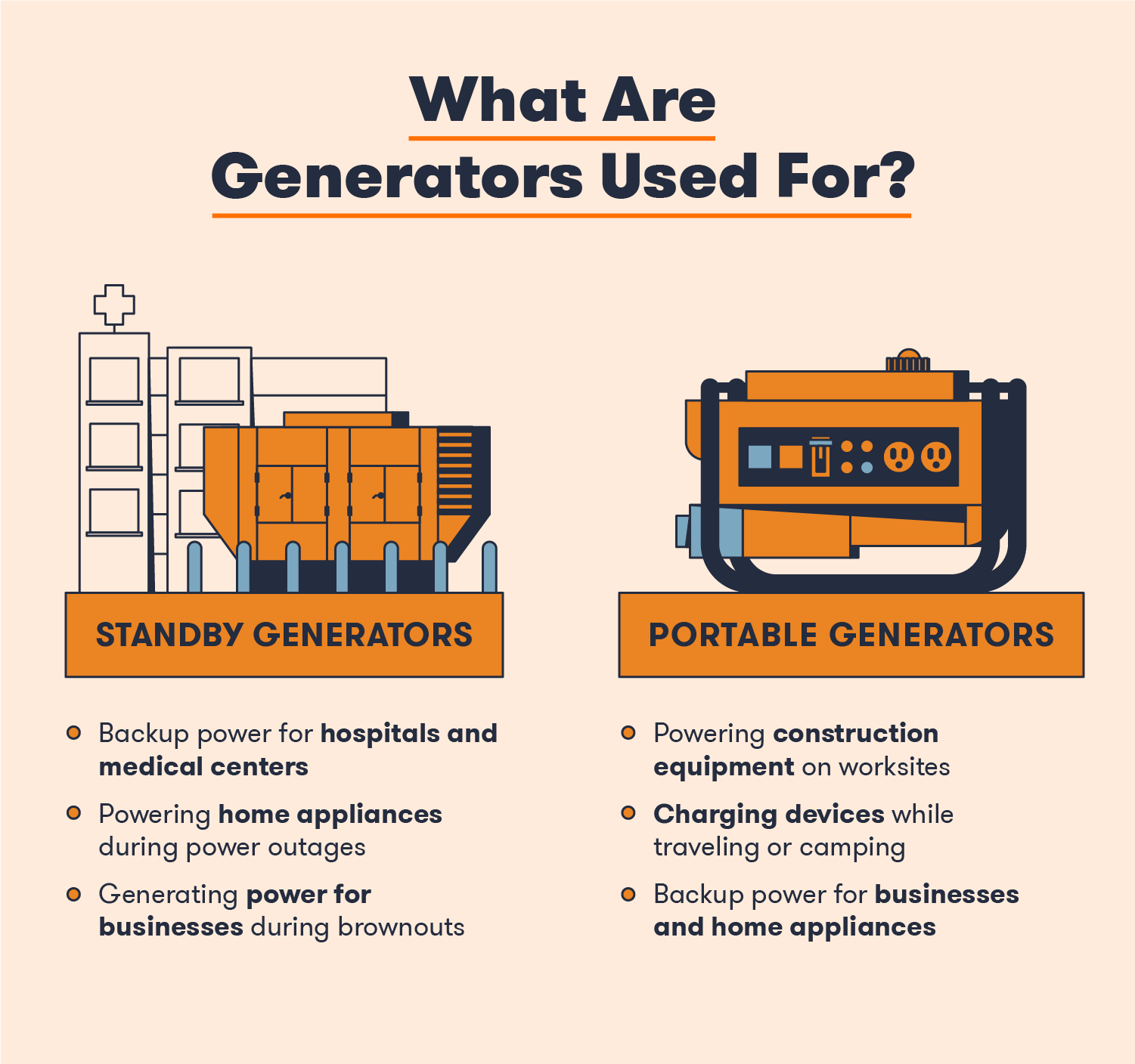 What Are Generators Used For