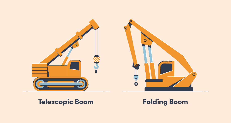 Telescopic Boom and Folding Boom