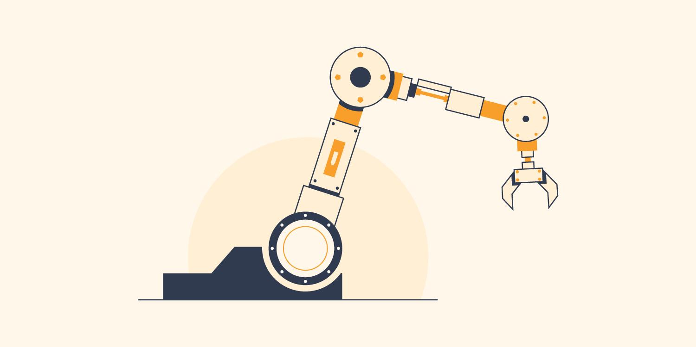 Robotic arm crane