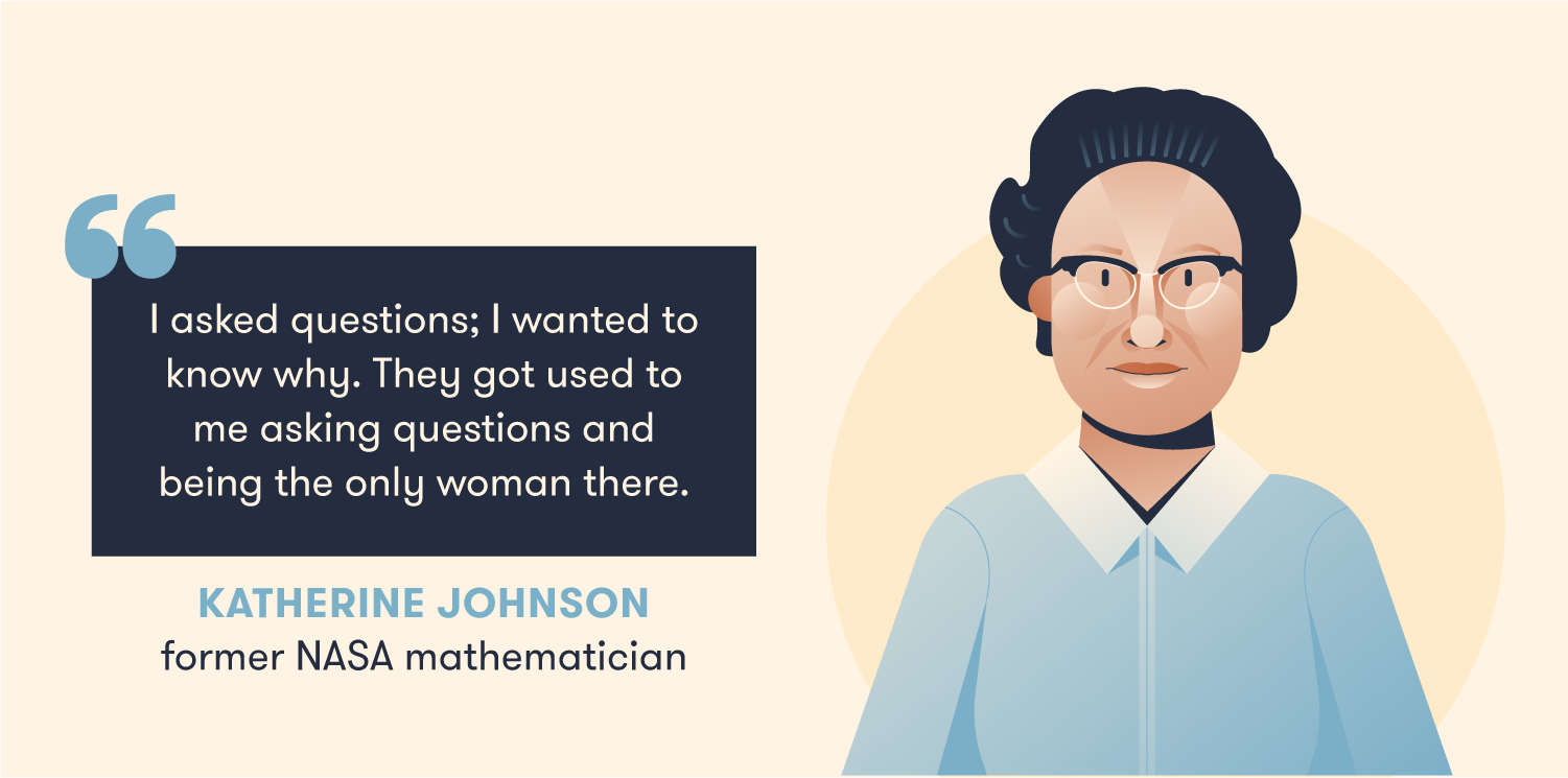 Quote from Katherine Johnson