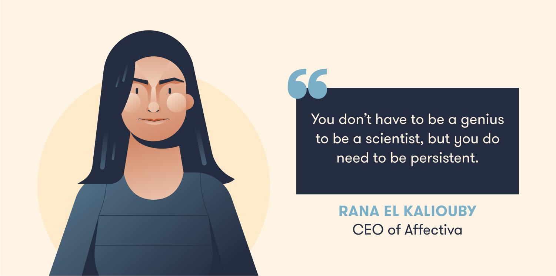 Quote from Rana el Kaliouby