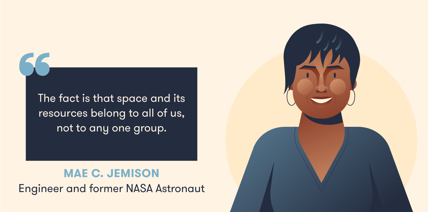 Quote from Mae Jemison