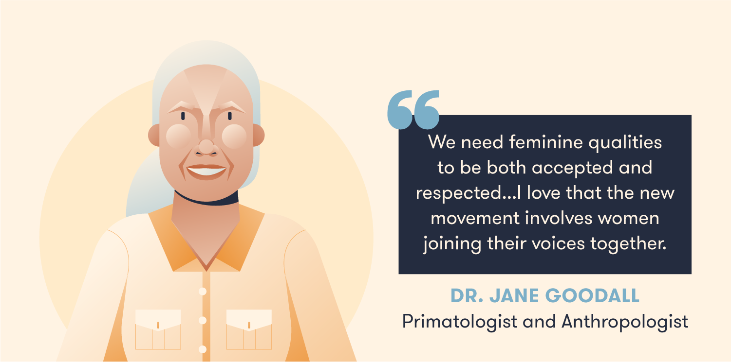 Quote from Dr Jane Goodall