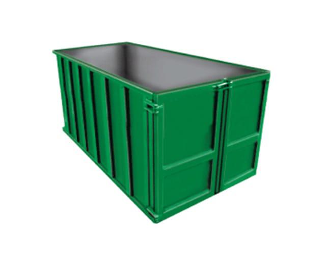 10 cu yd, 1 ton Max, Construction Dumpster