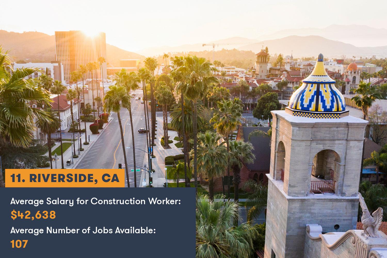 Riverside Construction Jobs and Salary
