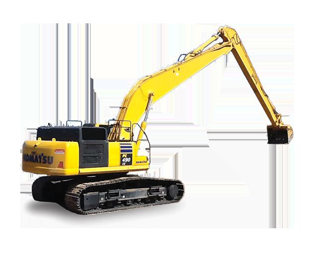110,000-119,000 lbs, Excavator