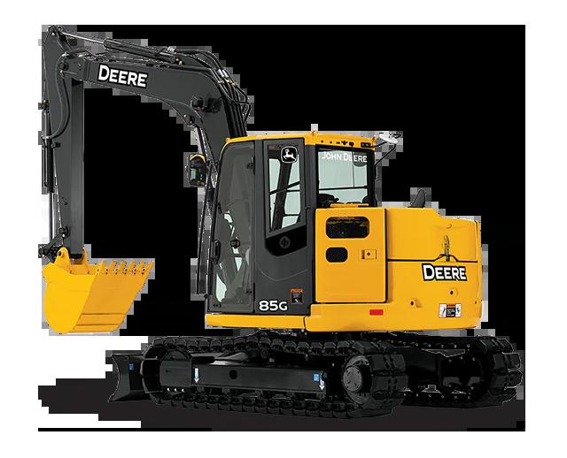 18,500 lbs, Mini Excavator