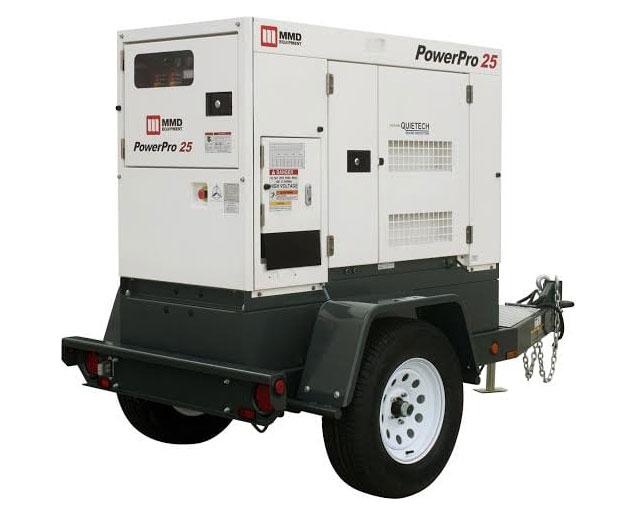20 kW / 25 kVA Towable Diesel Generator