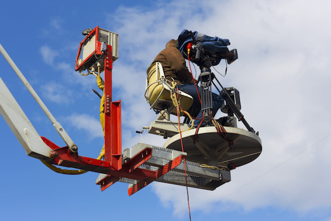 How to Use an Aerial Lift to Make Your Next Client Video Remarkable