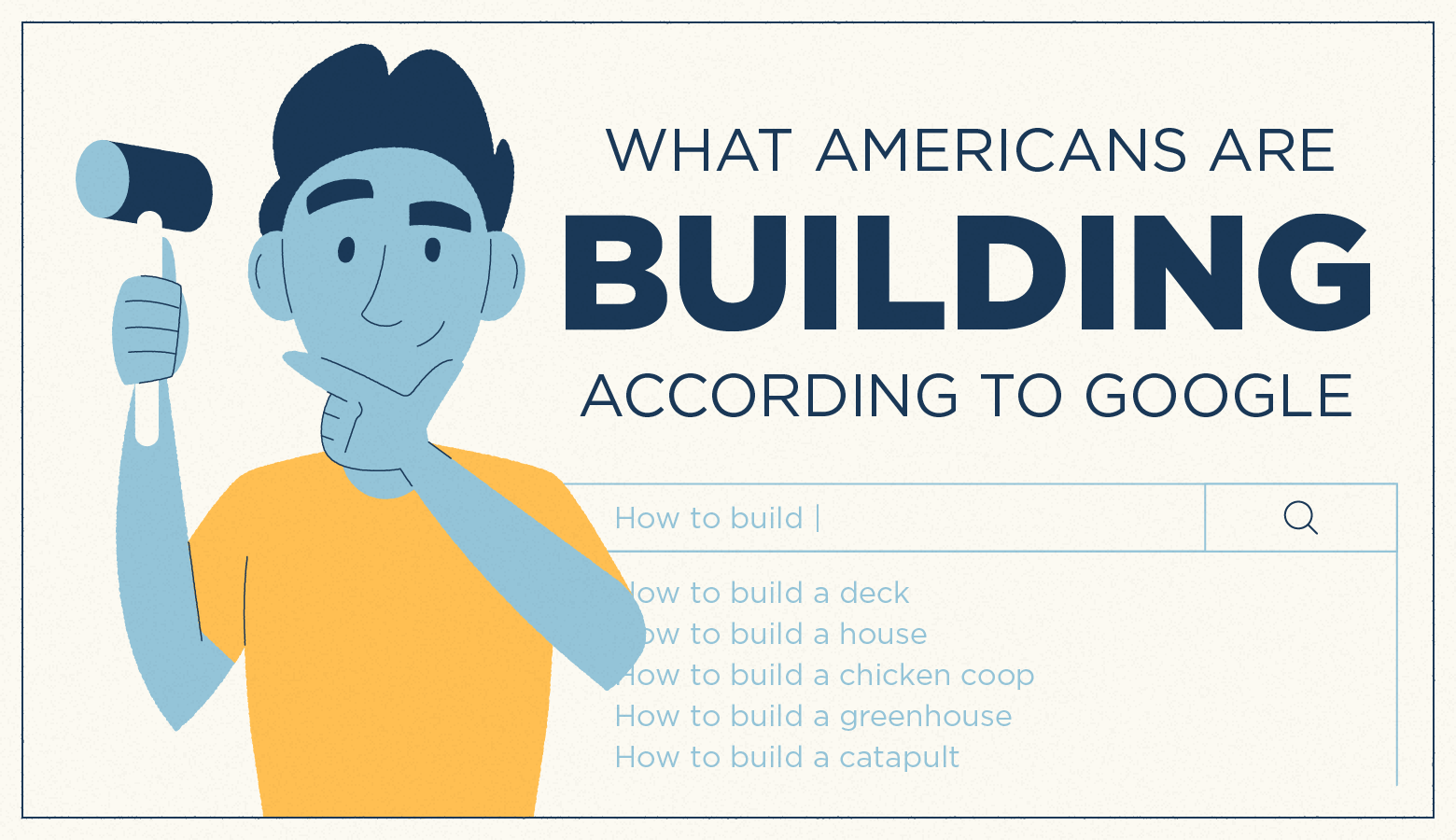 What Americans Are Building According to Google