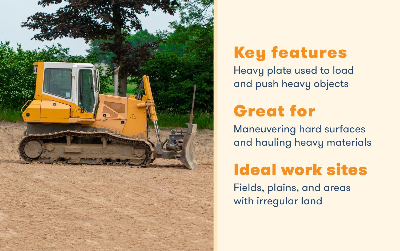 crawler bulldozer profile
