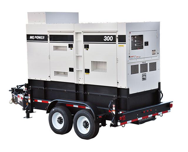 240 kW / 300 kVA Towable Diesel Generator