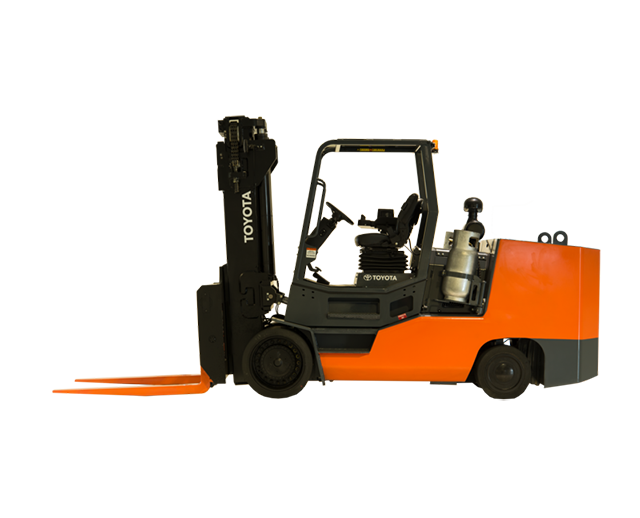 25,000 lbs, Cushion Tire, Warehouse Forklift
