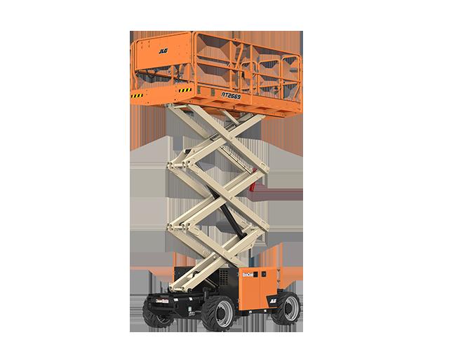 26 ft, 4WD, Rough-Terrain Scissor Lift