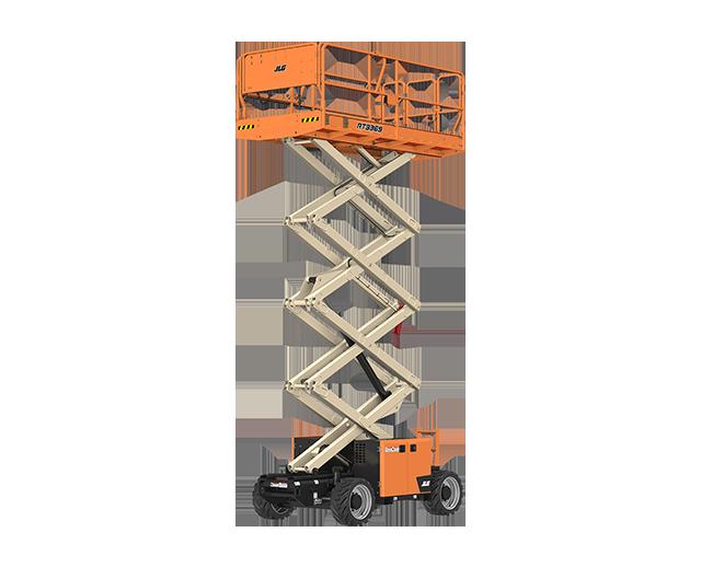 32 ft, 4WD, Rough-Terrain Scissor Lift
