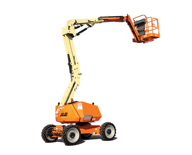 34 ft, Diesel, Dual-Fuel, Articulating Boom Lift