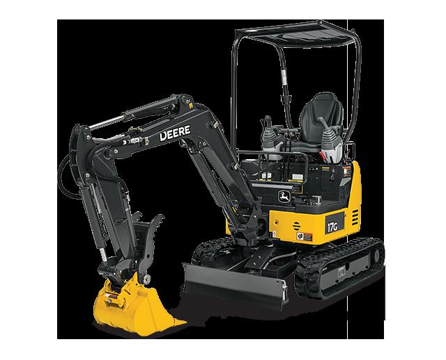 3,500 lbs, Mini Excavator