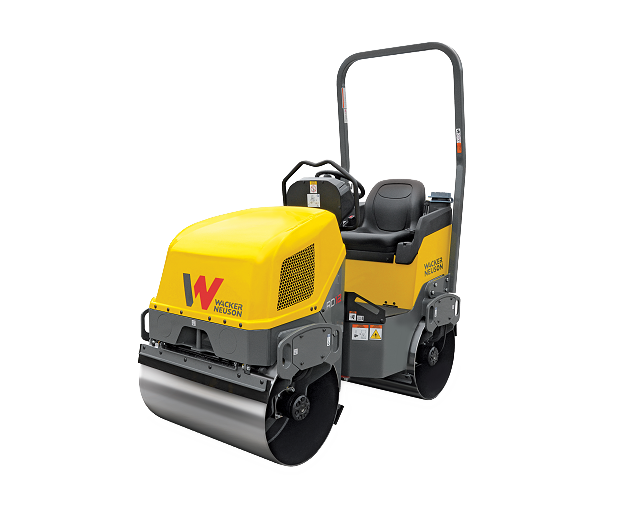 36 in, Double-Drum, Ride-On Roller