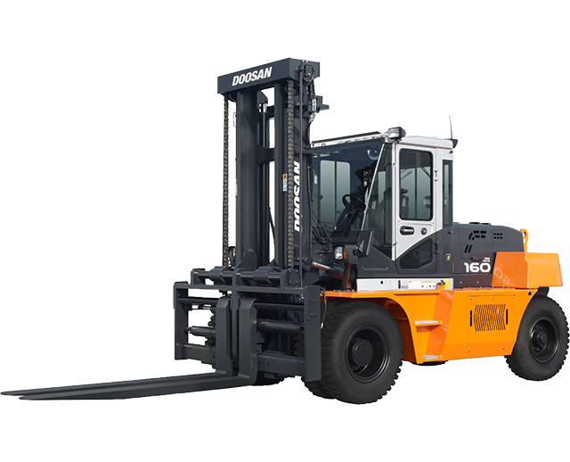 36,000 lbs, Pneumatic Tire, Industrial Forklift