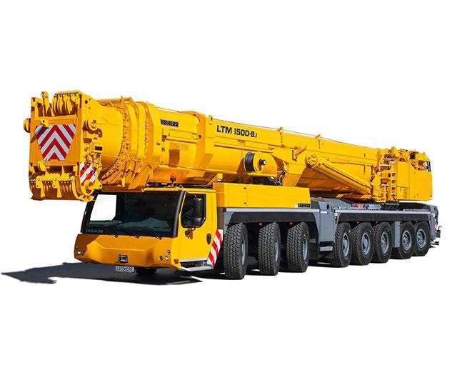 400+ ton Operated Crane