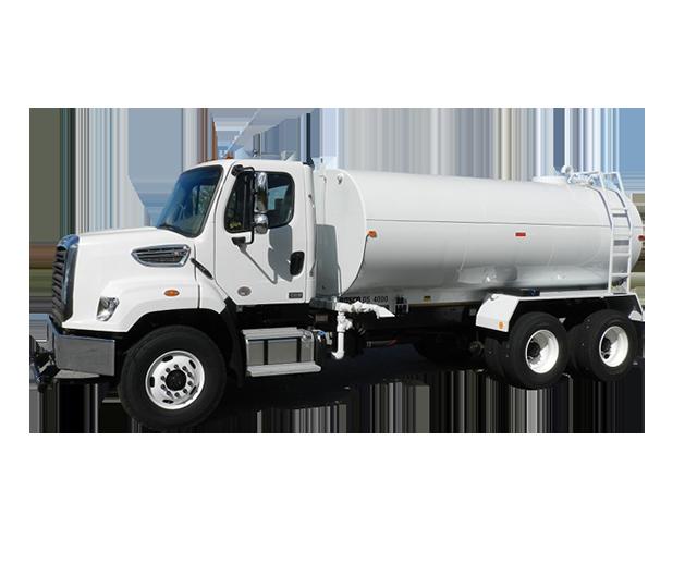 4,000-4,999 gal, Water Truck