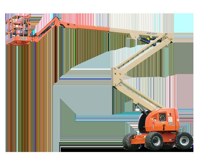 45 ft, Diesel, Dual-Fuel, Articulating Boom Lift