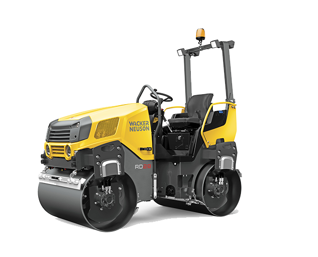 47 in, Double-Drum, Ride-On Roller