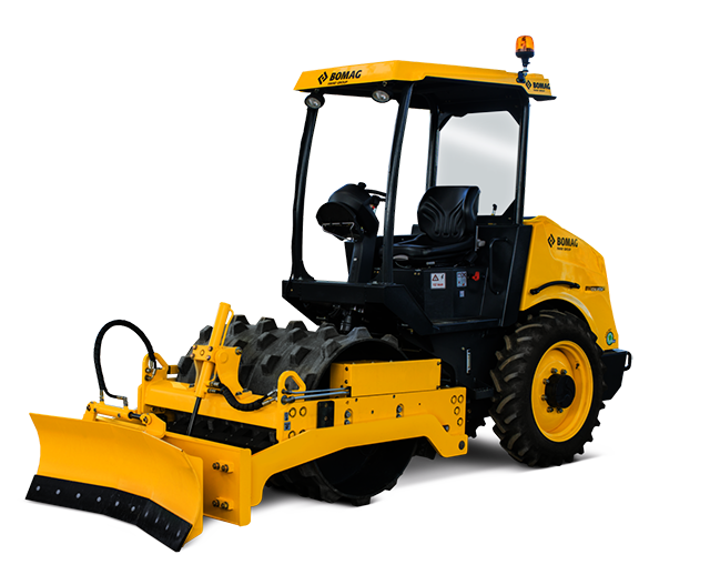 48 in, Padfoot, Single-Drum, Ride-On Roller