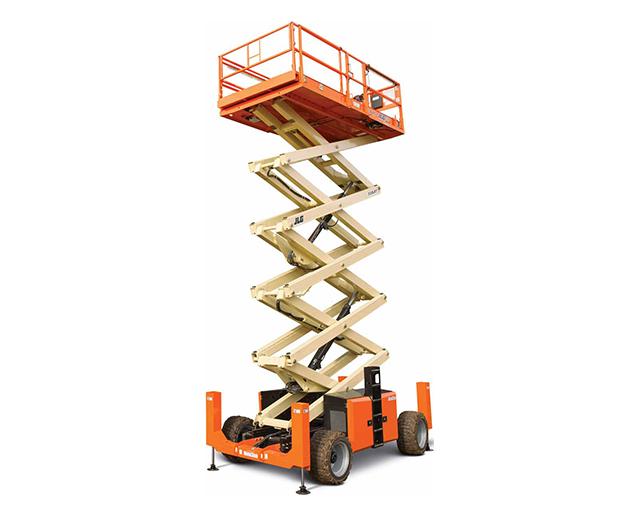 50 ft, 4WD, Rough-Terrain Scissor Lift
