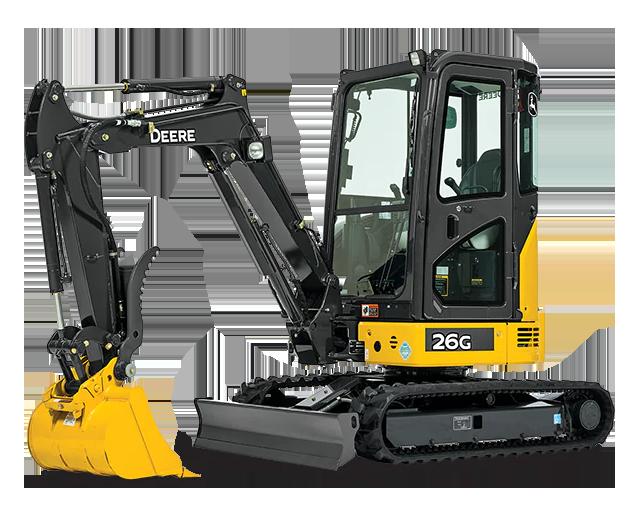 6,000 lbs, Mini Excavator