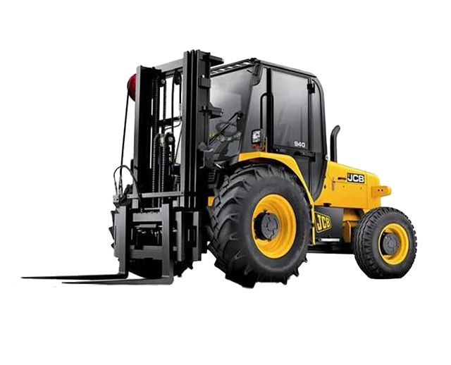 8,000 lbs, 21 ft, Straight-Mast, 4WD, Rough-Terrain Forklift