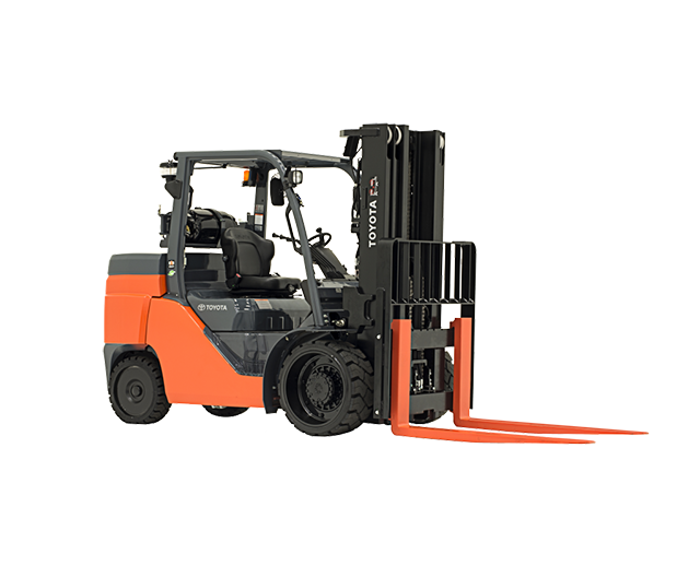 10,000 lbs, Cushion Tire, Warehouse Forklift