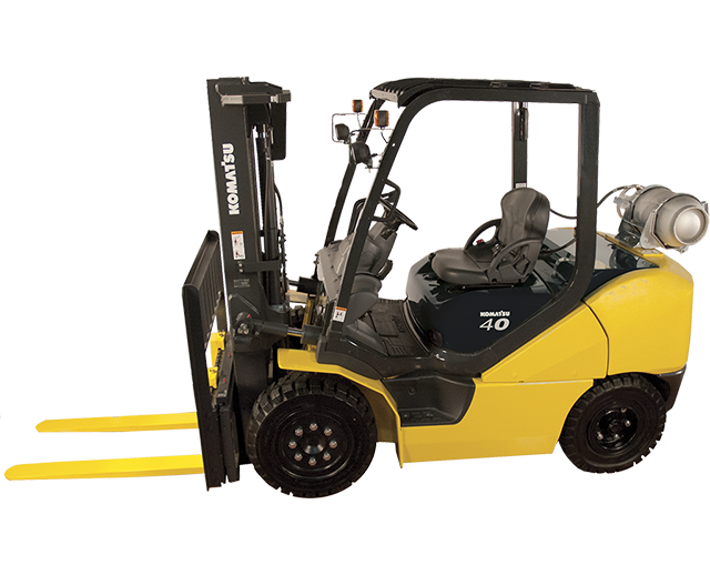 10,000 lbs, Pneumatic Tire, Warehouse Forklift