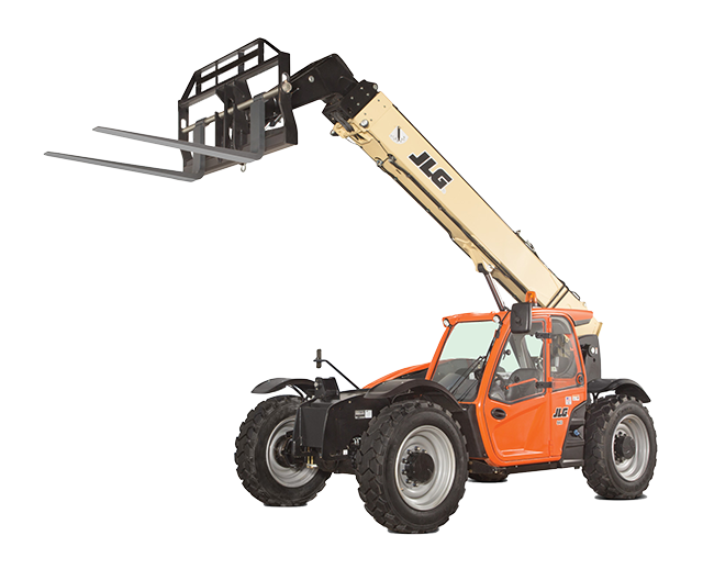 9,000 lbs, 42-45 ft, Telehandler