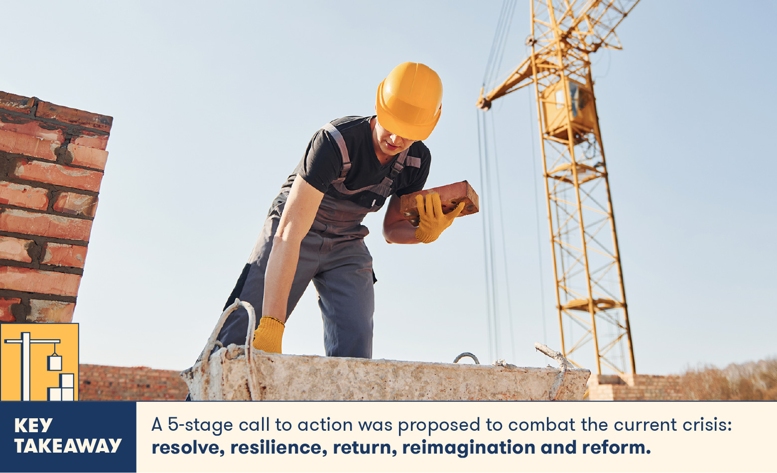 5 stage call to action proposed to help construction after COVID