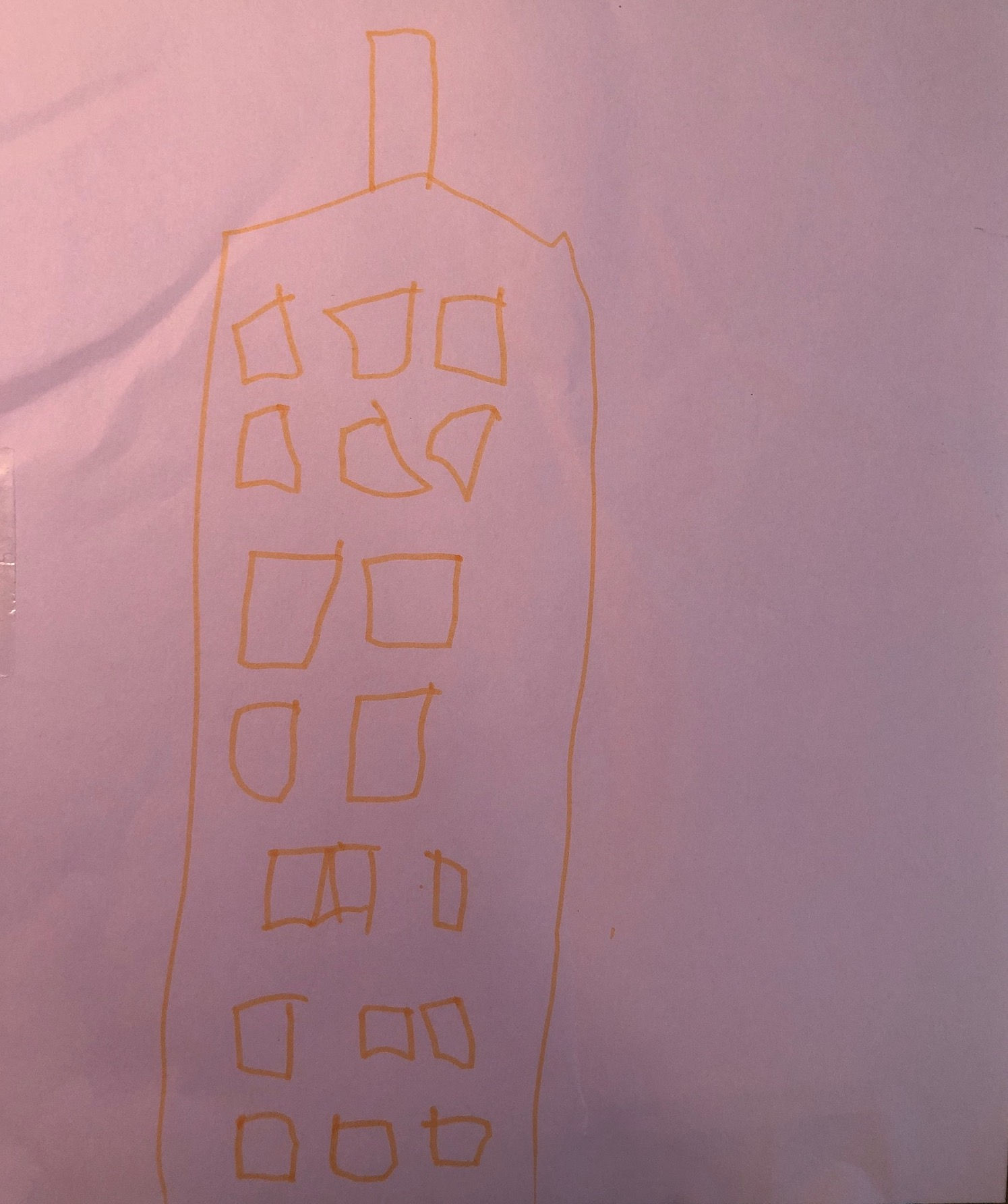 Empire State Building Drawing 2