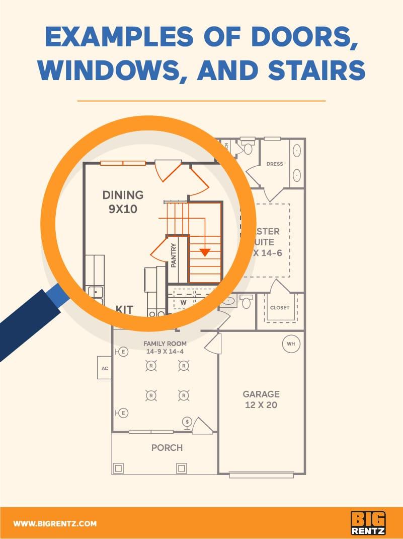How To Understand Floor Plan Symbols Bigrentz