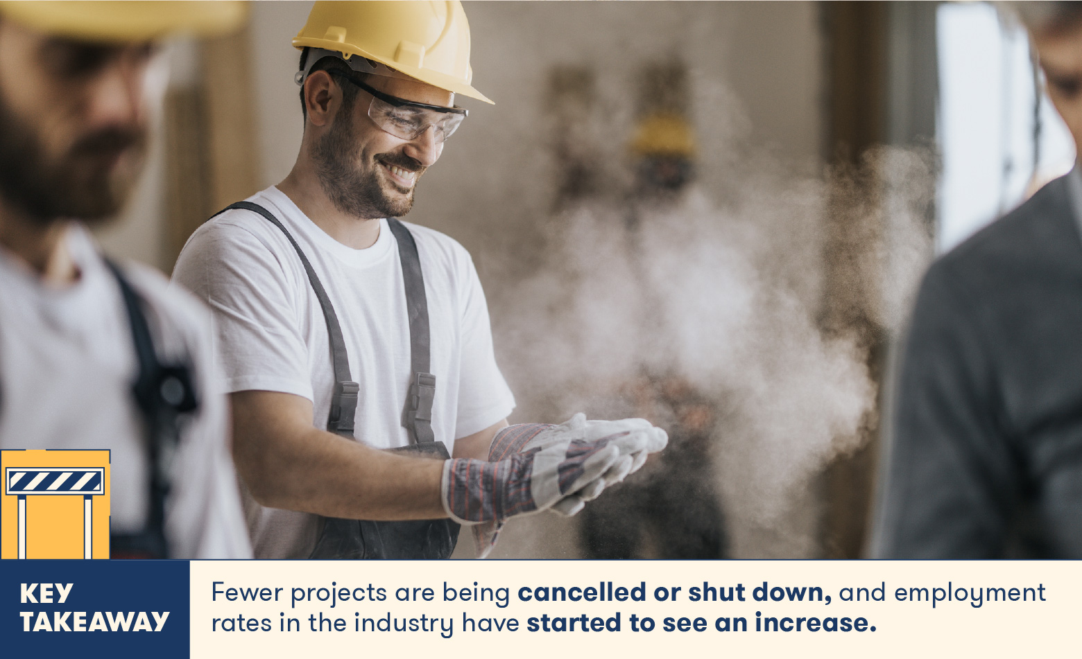 Fewer projects are being closed or shut down
