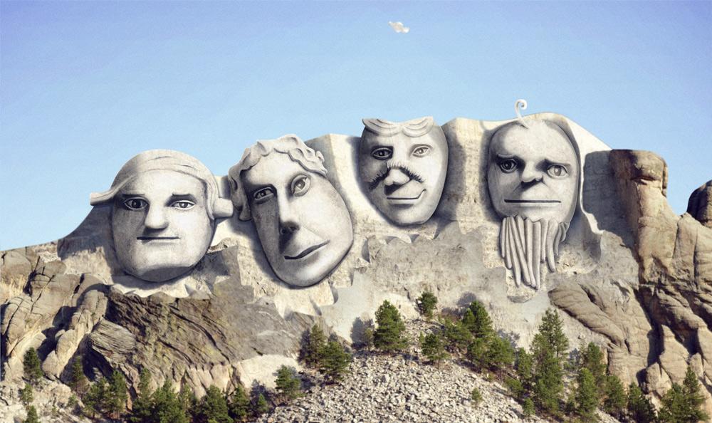 Mount Rushmore Reimagined