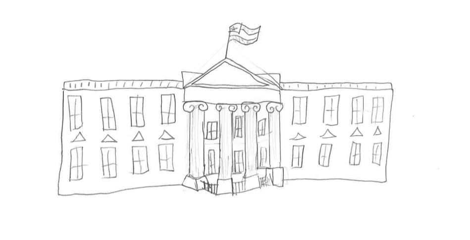 The White House Kids Drawing 2