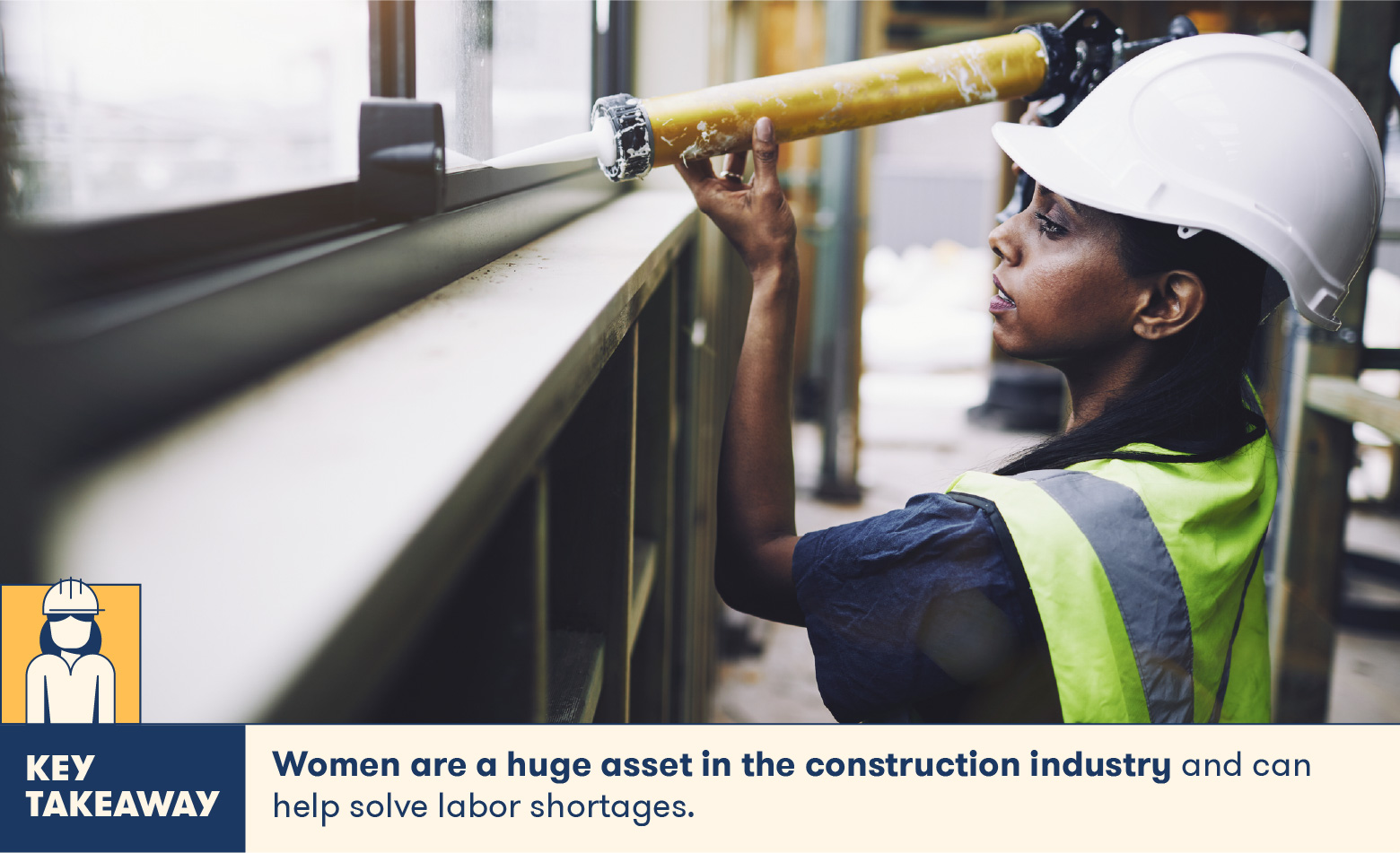 women are a huge asset in the construction industry