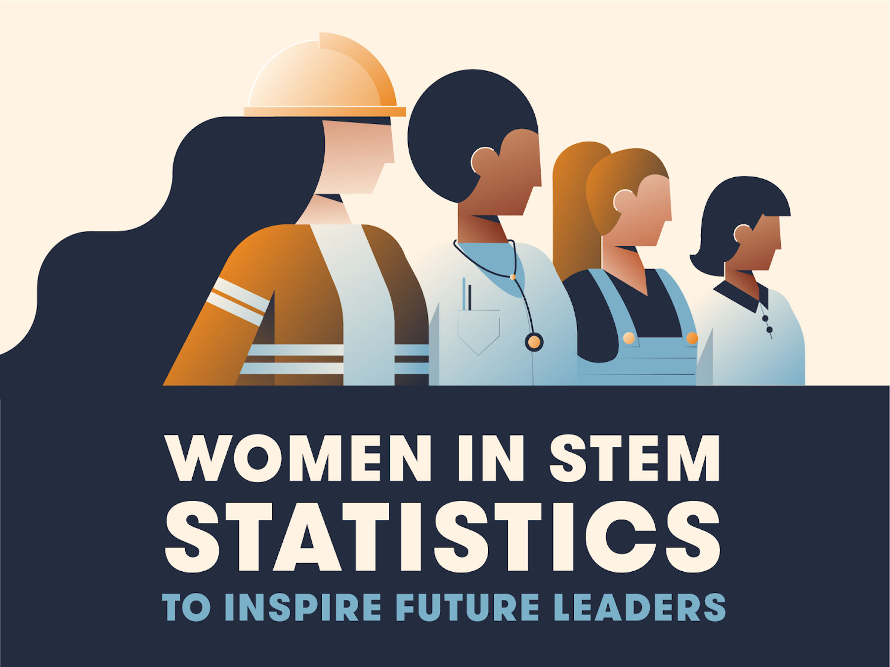 Women in STEM Statistics to Inspire Future Leaders