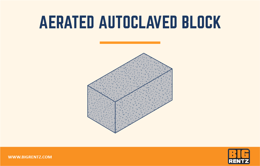 Aerated autoclaved block