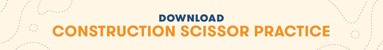 Download Construction Scissor Practice Printable