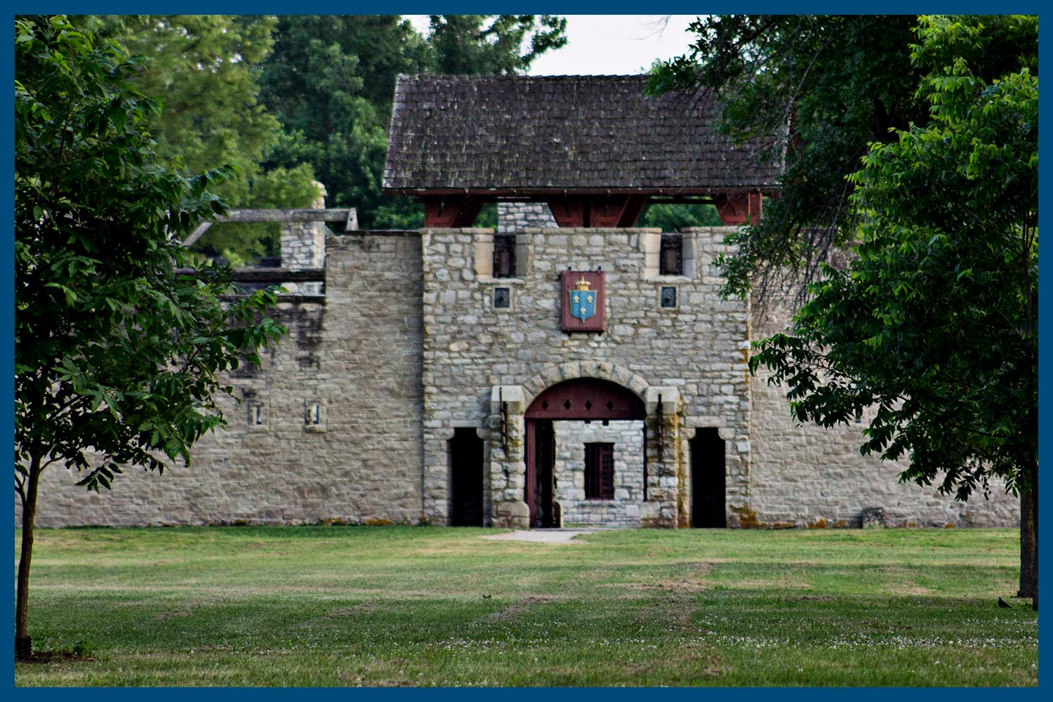 Fort de Chartres in Illinois