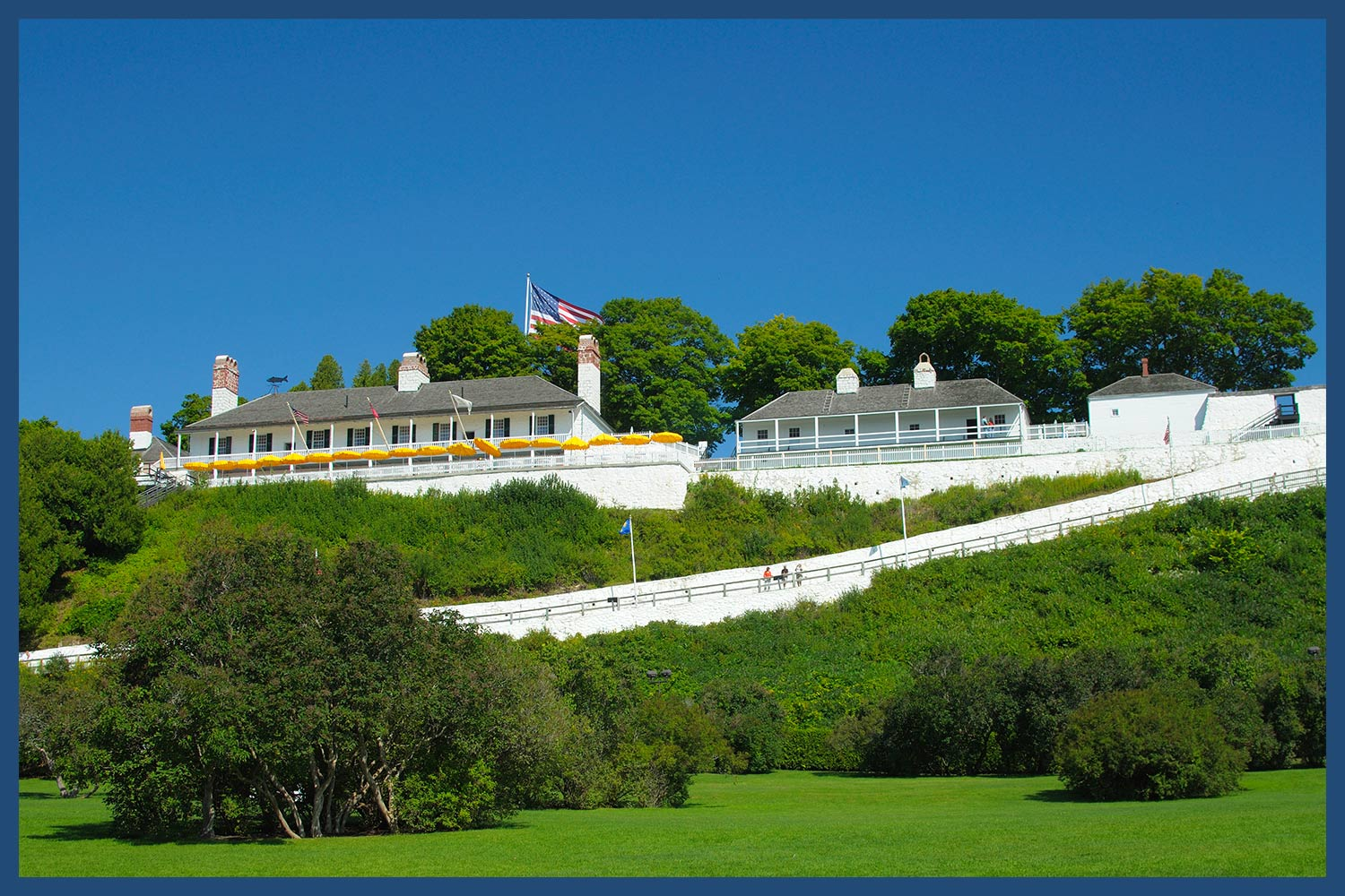 Fort Mackinac in Michigan