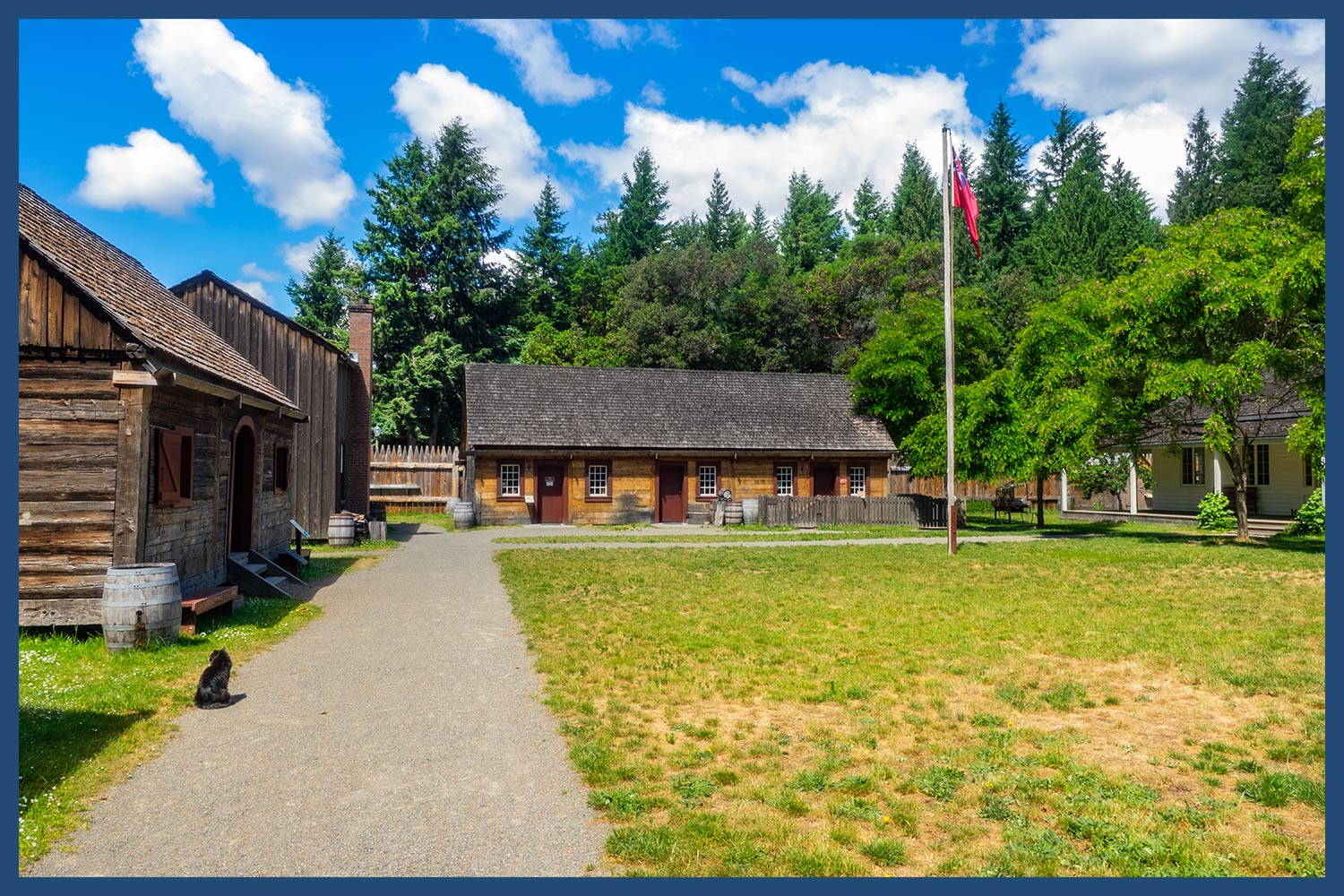 Fort Nisqually in Washington