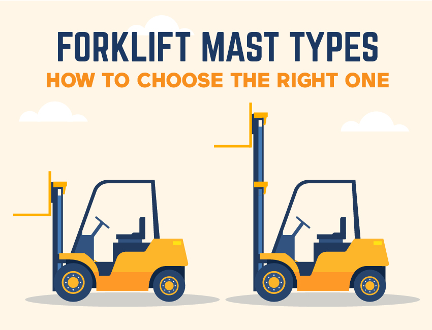 Forklift Mast Types: How to Choose the Right One