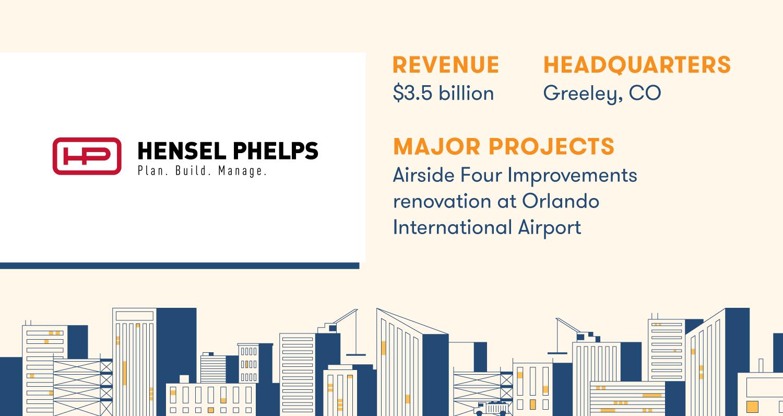 hensel phelps construction company profile